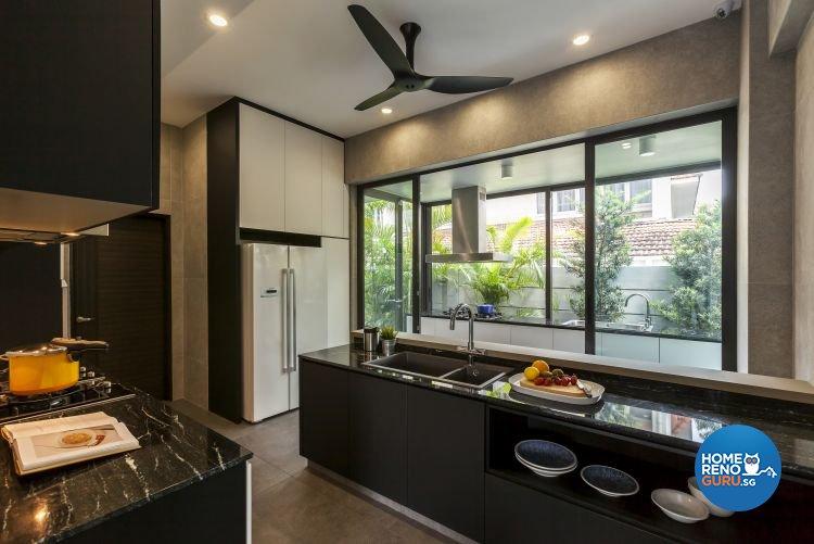 Contemporary, Modern Design - Kitchen - Landed House - Design by Livinz Synthesis Pte Ltd
