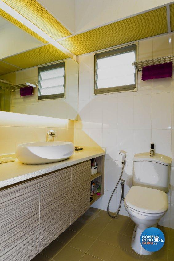 Modern, Rustic Design - Bathroom - HDB 4 Room - Design by LOME Interior