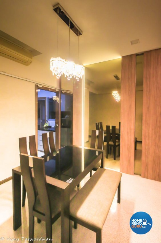 Contemporary, Modern Design - Dining Room - Condominium - Design by LOME Interior