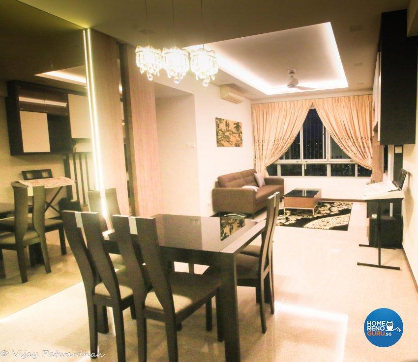 Contemporary, Modern Design - Dining Room - Condominium - Design by LOME Interior