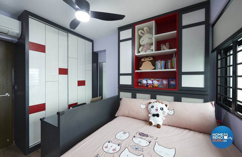Contemporary, Modern, Scandinavian Design - Bedroom - HDB 4 Room - Design by LOME Interior
