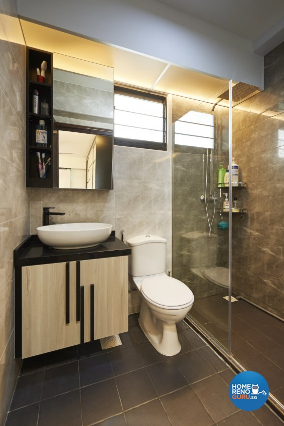 Contemporary, Modern, Scandinavian Design - Bathroom - HDB 4 Room - Design by LOME Interior