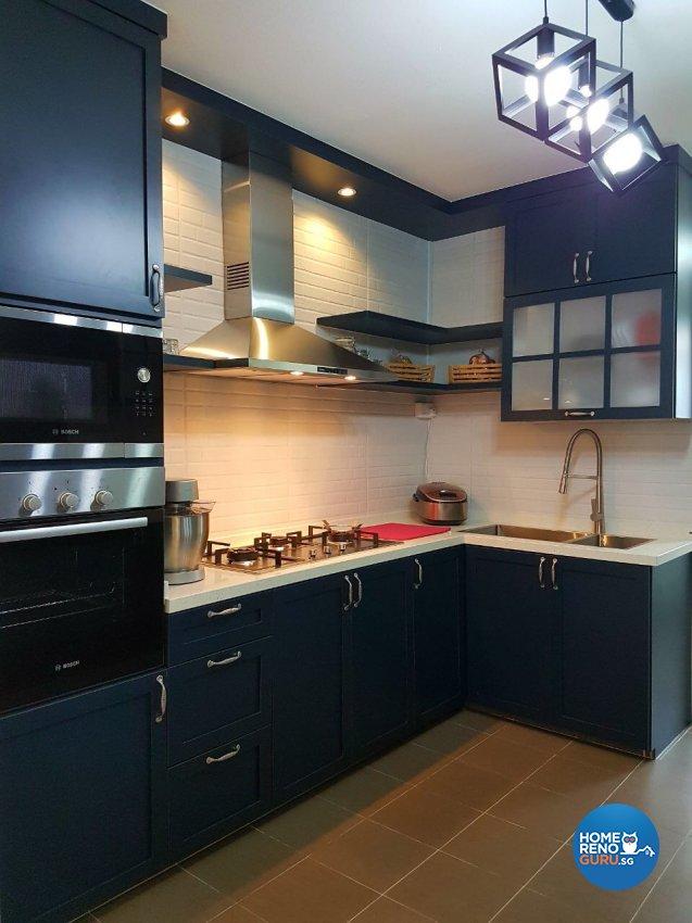 Classical, Victorian Design - Kitchen - HDB 3 Room - Design by LOME Interior