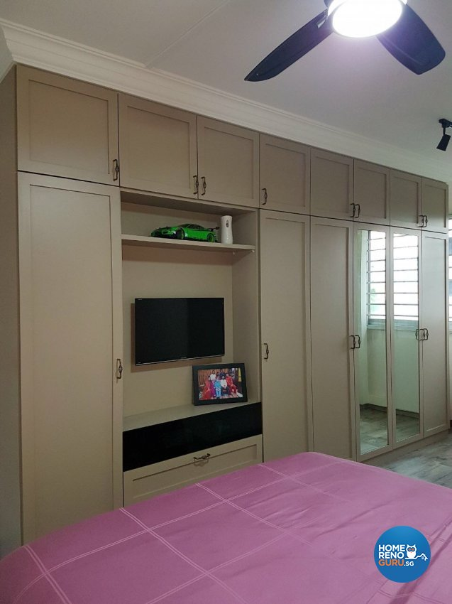 Classical, Victorian Design - Bedroom - HDB 3 Room - Design by LOME Interior
