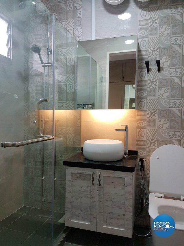 Classical, Victorian Design - Bathroom - HDB 3 Room - Design by LOME Interior