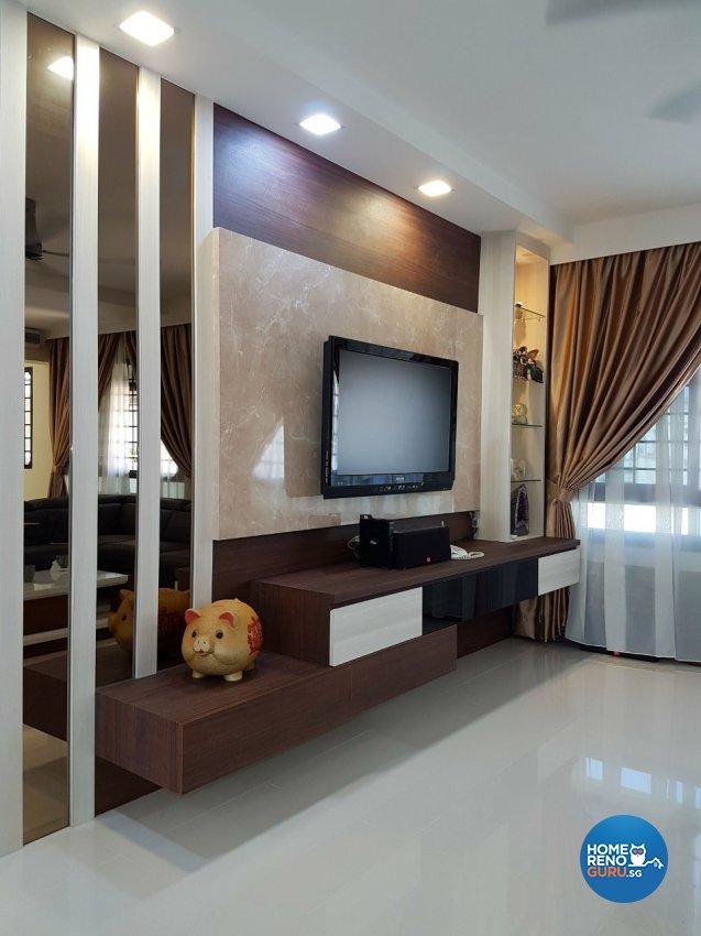 Modern, Scandinavian Design - Living Room - HDB 5 Room - Design by LOME Interior
