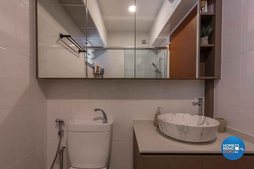 Scandinavian Design - Bathroom - HDB 4 Room - Design by LOME Interior