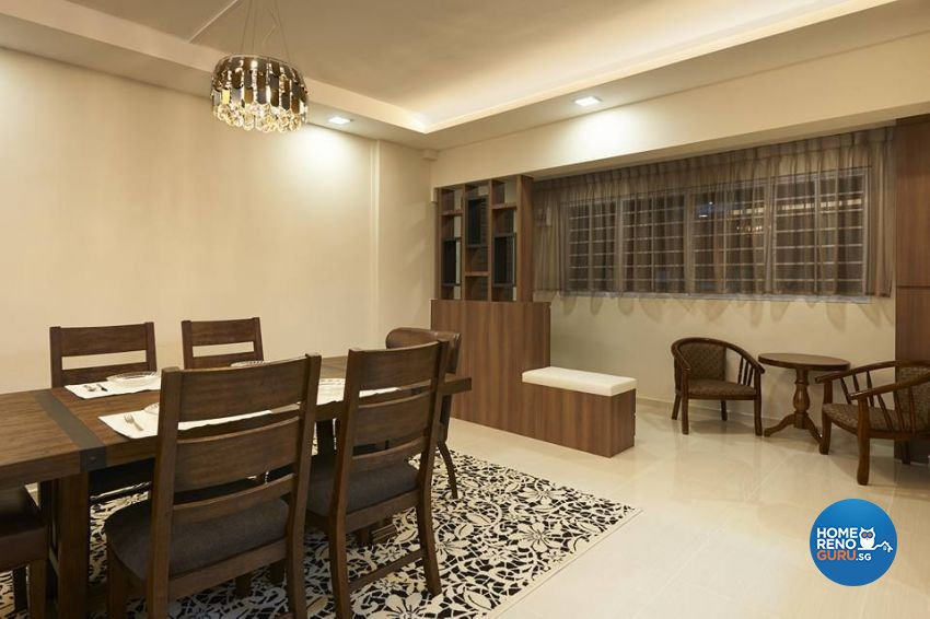 Scandinavian Design - Dining Room - HDB 4 Room - Design by LOME Interior