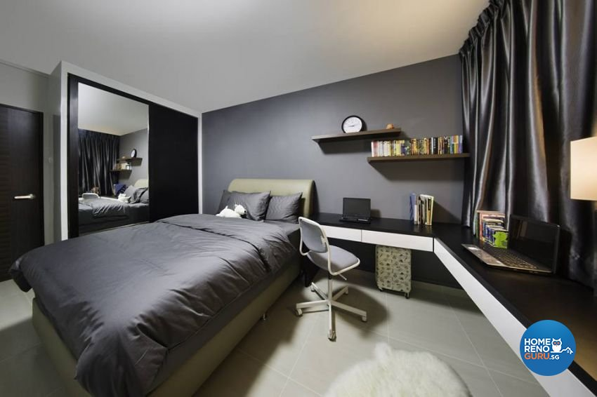 Scandinavian Design - Bedroom - HDB 4 Room - Design by LOME Interior