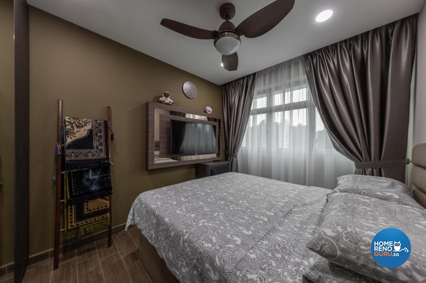 Contemporary, Mediterranean, Resort Design - Bedroom - HDB 4 Room - Design by LOME Interior