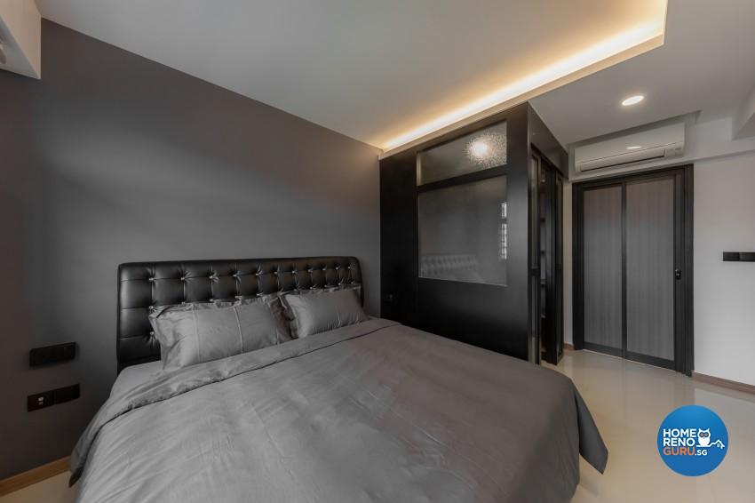Contemporary, Modern Design - Bedroom - HDB 4 Room - Design by LOME Interior