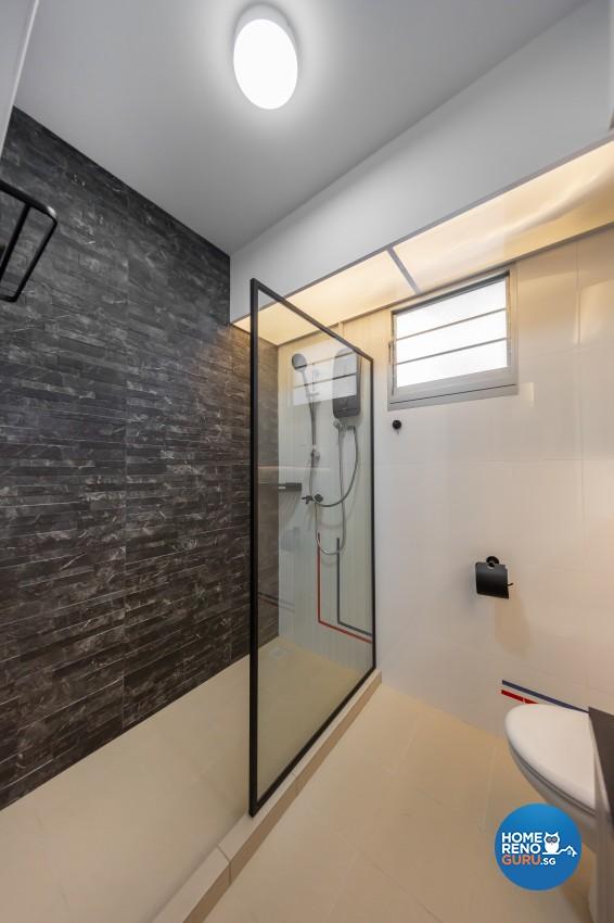 Contemporary, Modern Design - Bathroom - HDB 4 Room - Design by LOME Interior