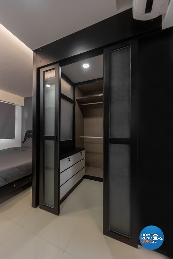 Contemporary, Modern Design - Bedroom - HDB 4 Room - Design by LOME Interior
