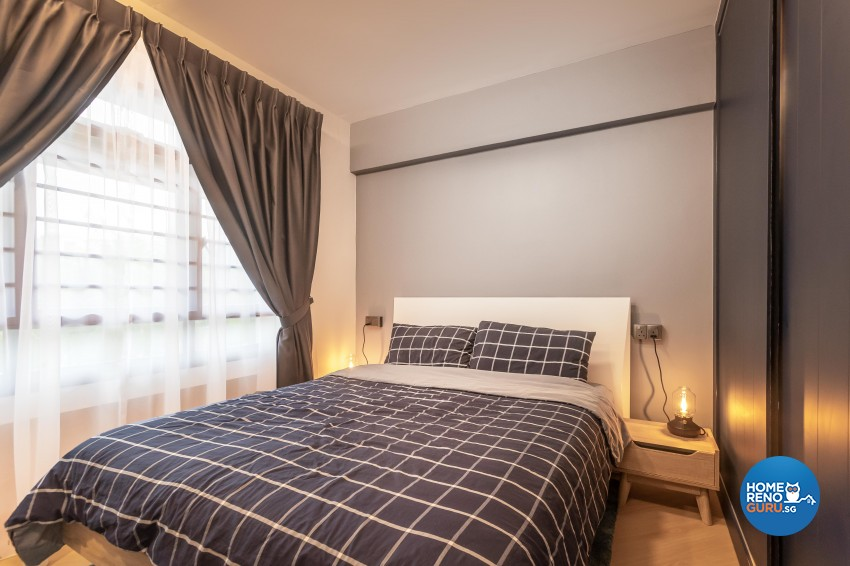 Contemporary, Eclectic, Modern Design - Bedroom - HDB 4 Room - Design by LOME Interior