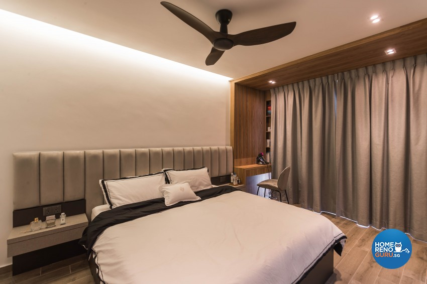 Contemporary Design - Bedroom - HDB 4 Room - Design by LOME Interior