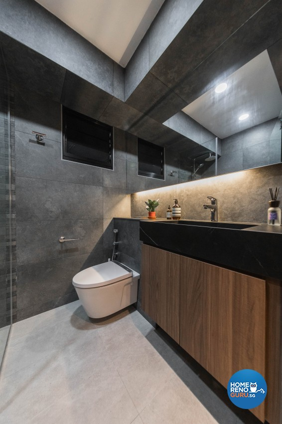 Contemporary Design - Bathroom - HDB 4 Room - Design by LOME Interior