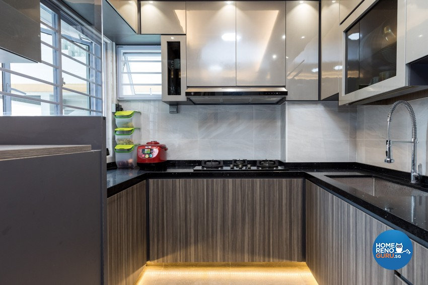 Classical, Modern Design - Kitchen - HDB 4 Room - Design by LOME Interior