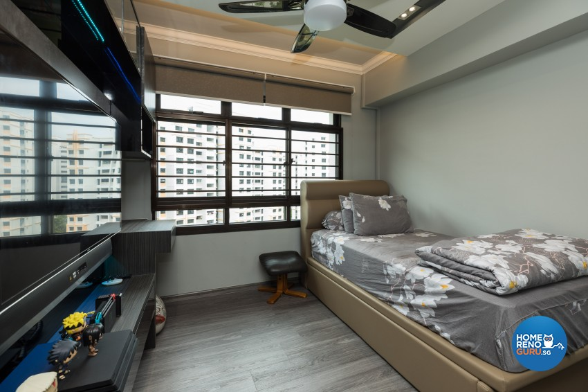 Classical, Modern Design - Bedroom - HDB 4 Room - Design by LOME Interior