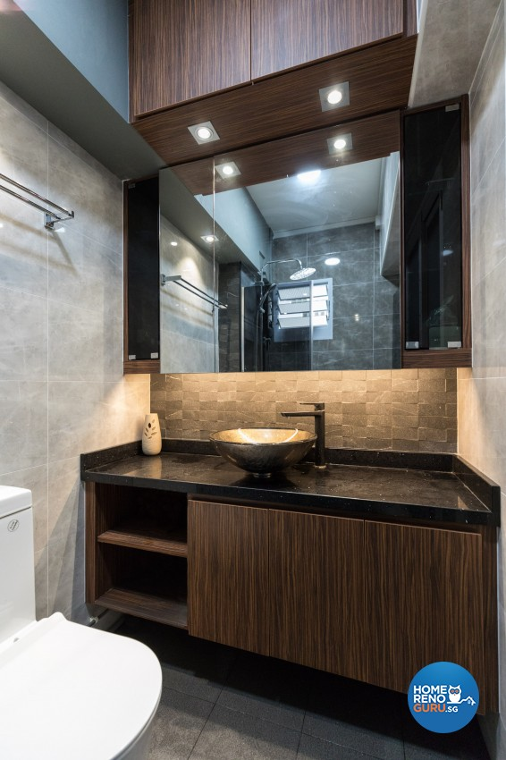Classical, Modern Design - Bathroom - HDB 4 Room - Design by LOME Interior