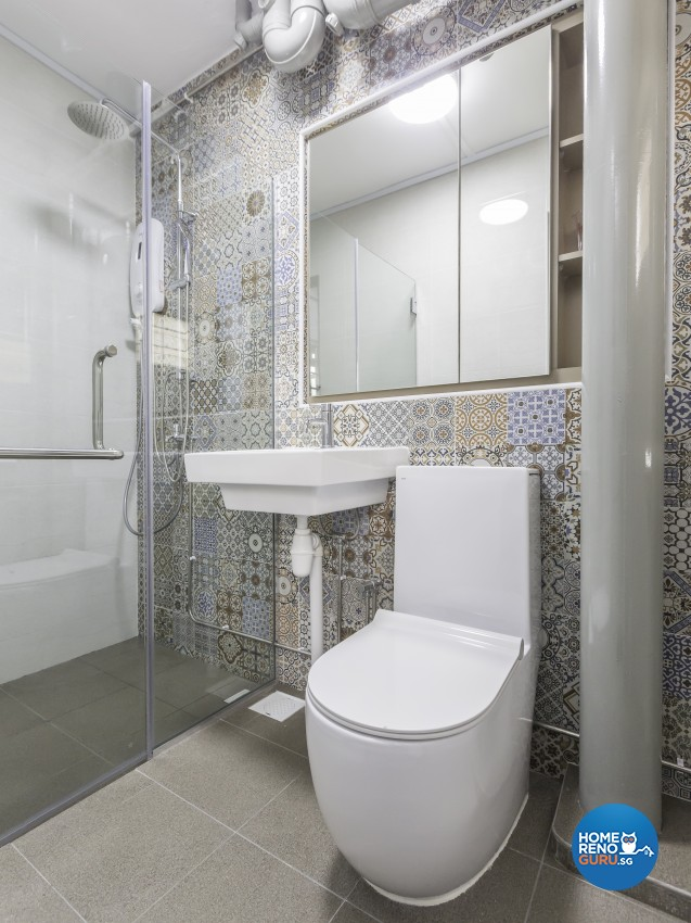Modern, Victorian Design - Bathroom - HDB 4 Room - Design by LOME Interior