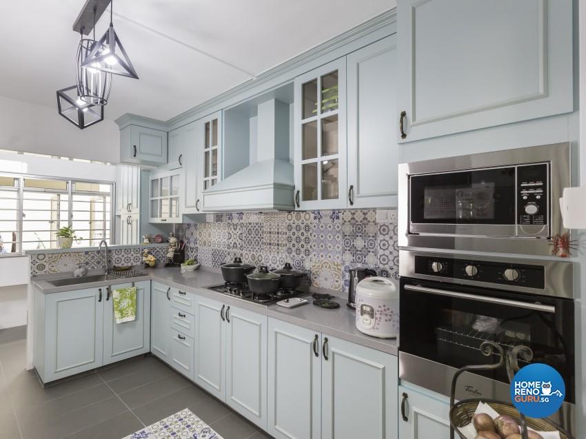 Modern, Victorian Design - Kitchen - HDB 4 Room - Design by LOME Interior