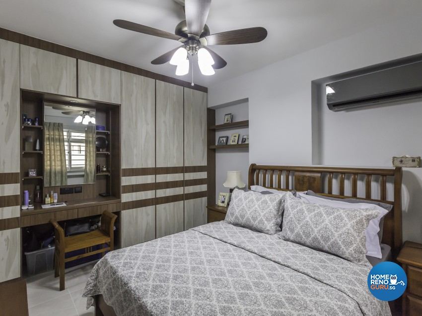Modern, Victorian Design - Bedroom - HDB 4 Room - Design by LOME Interior
