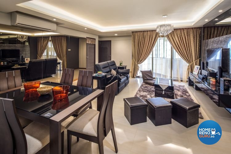 Contemporary, Modern Design - Dining Room - HDB 5 Room - Design by LOME Interior