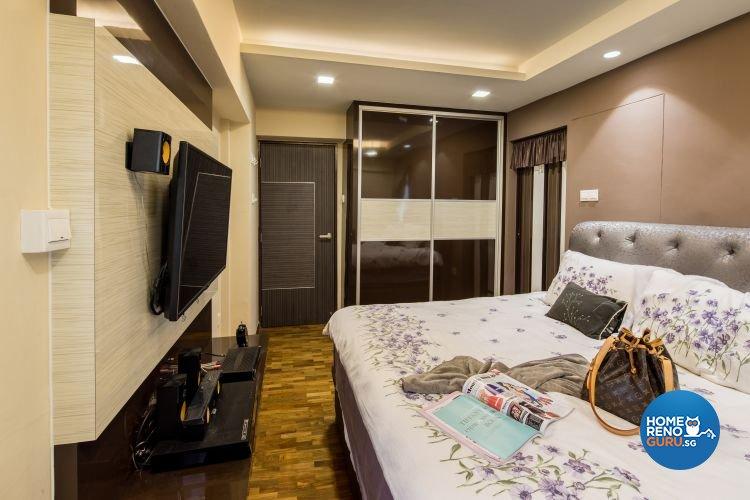 Contemporary, Modern Design - Bedroom - HDB 5 Room - Design by LOME Interior