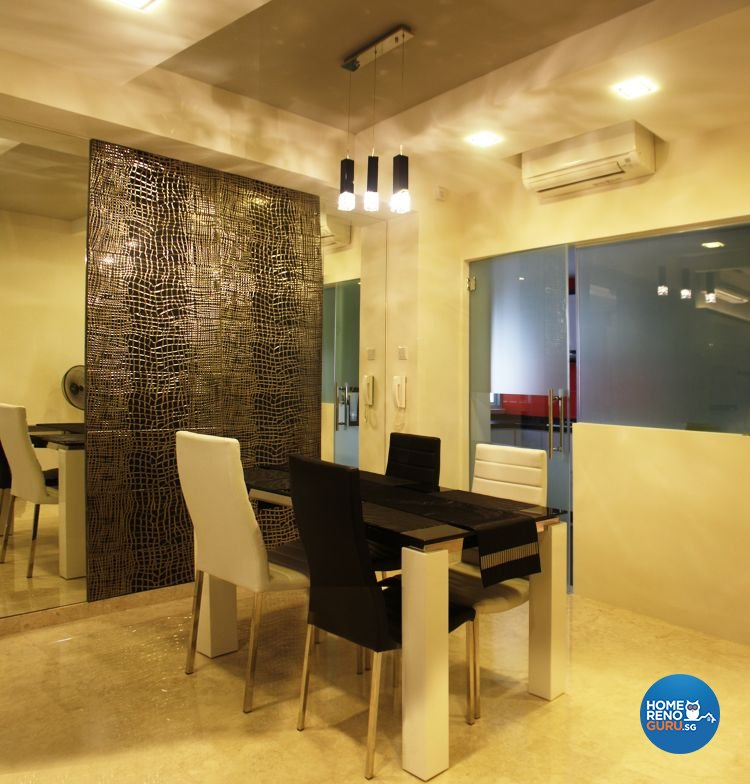 Contemporary, Retro Design - Dining Room - Condominium - Design by LOME Interior
