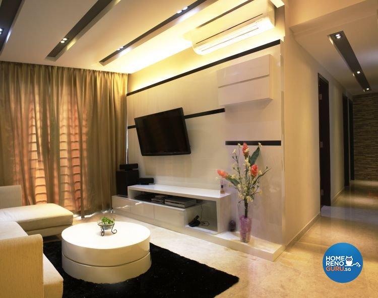 Contemporary, Retro Design - Living Room - Condominium - Design by LOME Interior