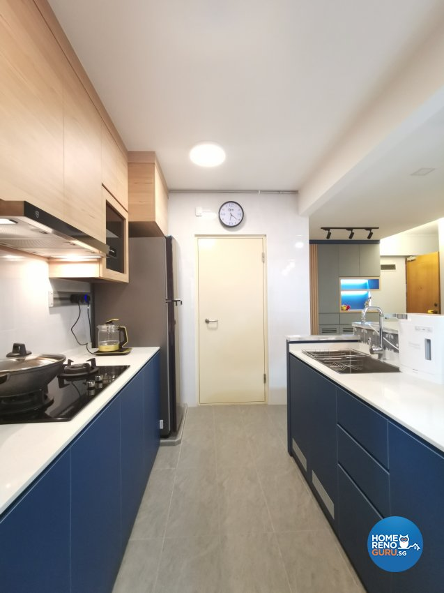 Modern Design - Kitchen - HDB 4 Room - Design by LOME Interior