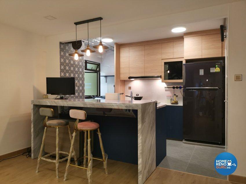 Modern Design - Dining Room - HDB 4 Room - Design by LOME Interior
