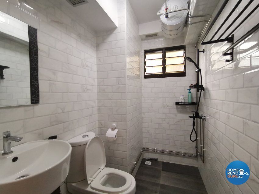 Modern Design - Bathroom - HDB 4 Room - Design by LOME Interior
