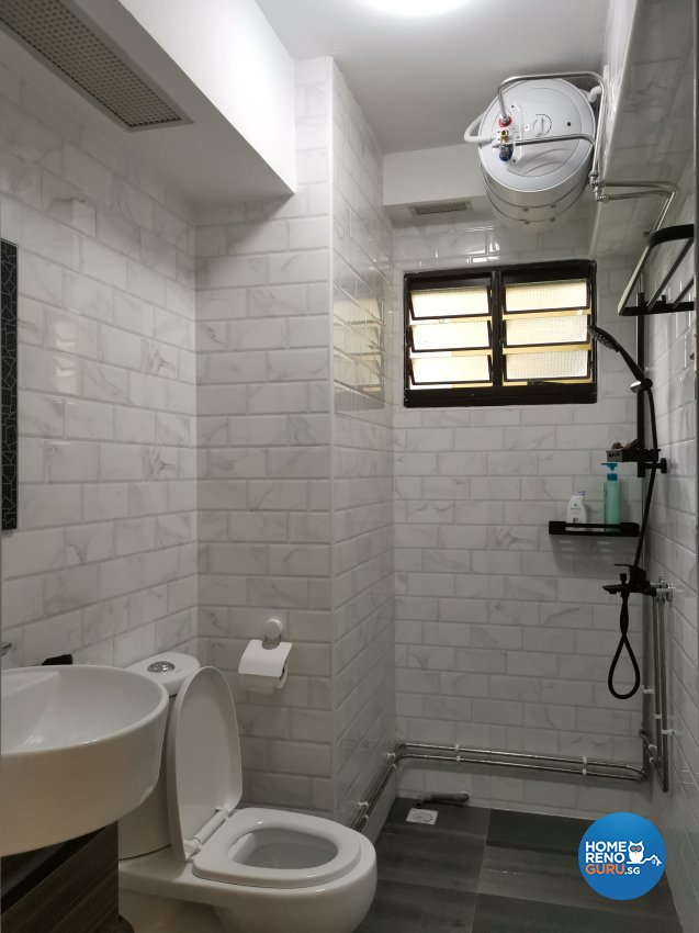 Modern Design - Bathroom - HDB 4 Room - Design by LOME Interior