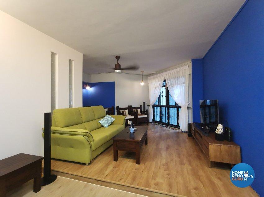 Modern Design - Living Room - HDB 4 Room - Design by LOME Interior