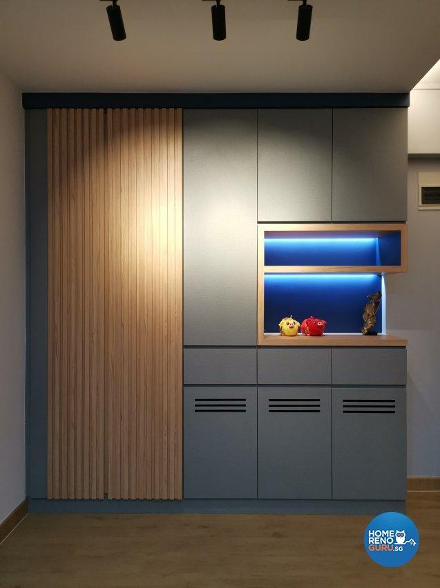 Modern Design - Balcony - HDB 4 Room - Design by LOME Interior