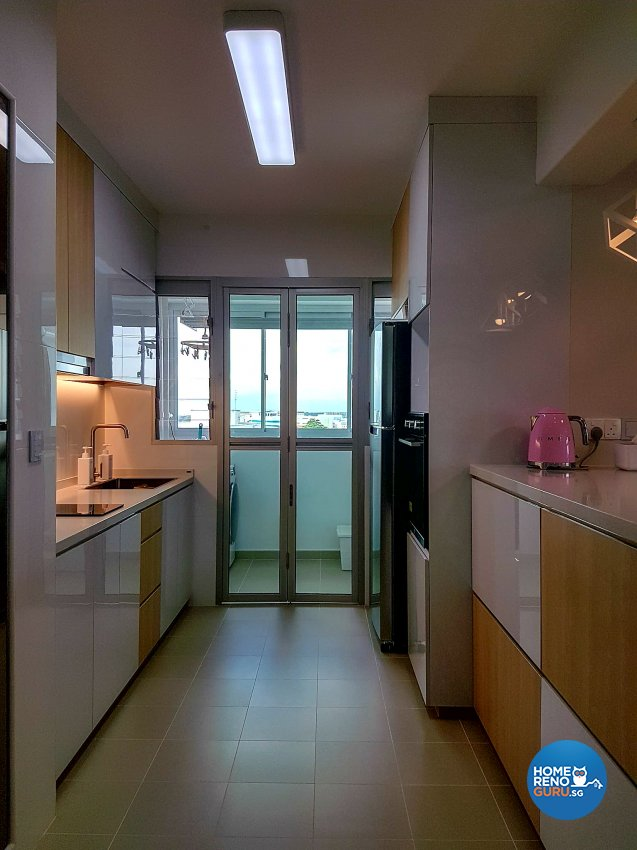 Scandinavian Design - Kitchen - HDB 4 Room - Design by LOME Interior