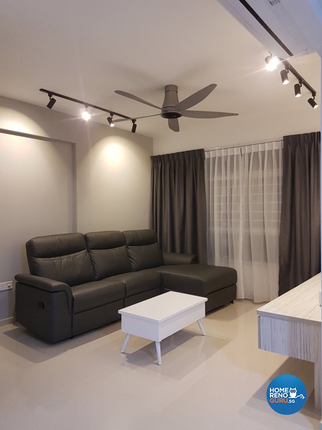 Minimalist, Scandinavian Design - Living Room - HDB 4 Room - Design by LOME Interior