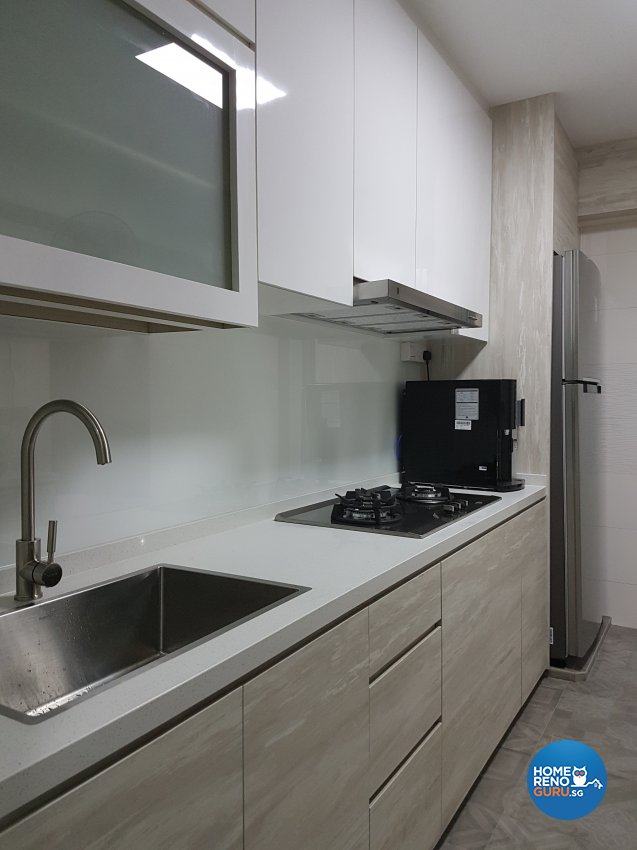 Minimalist, Scandinavian Design - Kitchen - HDB 4 Room - Design by LOME Interior