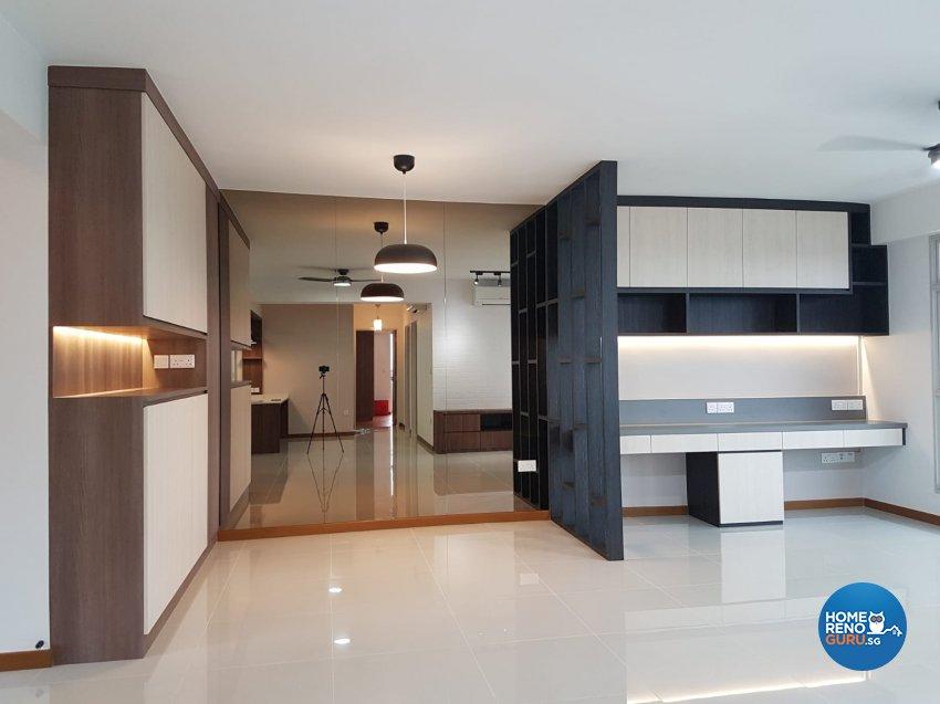 Contemporary, Minimalist, Scandinavian Design - Living Room - HDB 5 Room - Design by LOME Interior