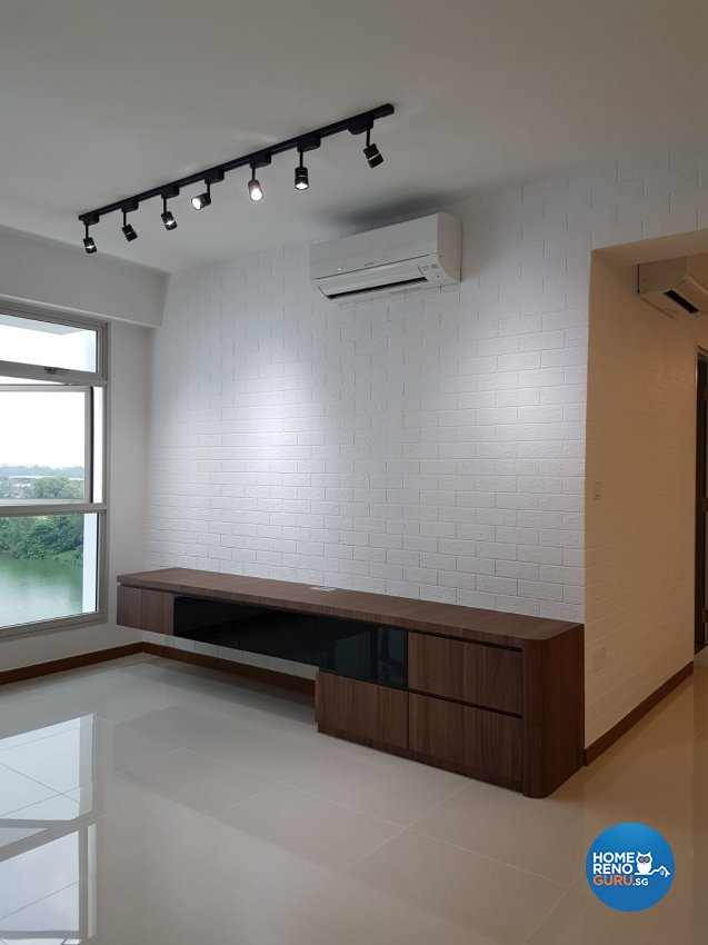 Contemporary, Minimalist, Scandinavian Design - Living Room - HDB 5 Room - Design by LOME Interior