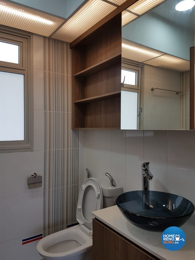 Contemporary, Minimalist, Scandinavian Design - Bathroom - HDB 5 Room - Design by LOME Interior