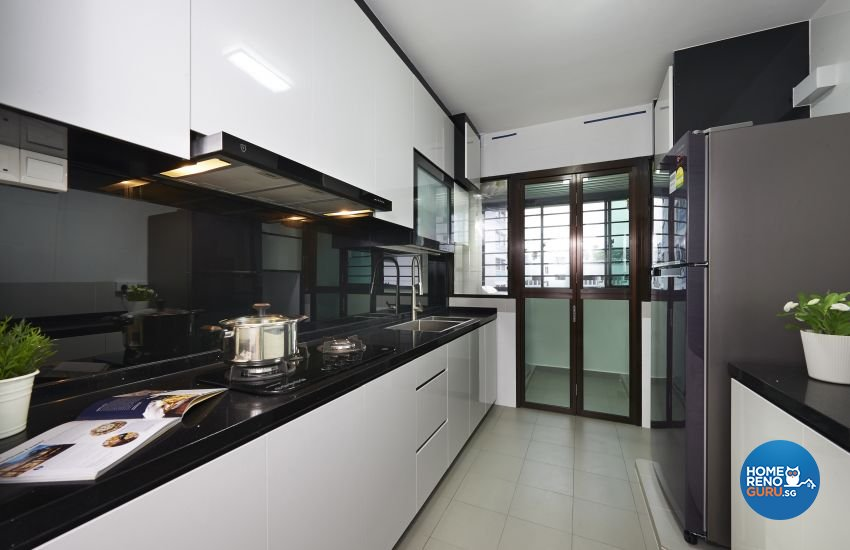Modern Design - Kitchen - HDB 5 Room - Design by LOME Interior