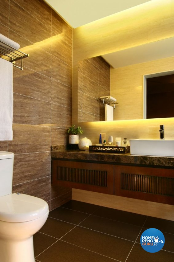Resort, Tropical Design - Bathroom - Landed House - Design by LOME Interior