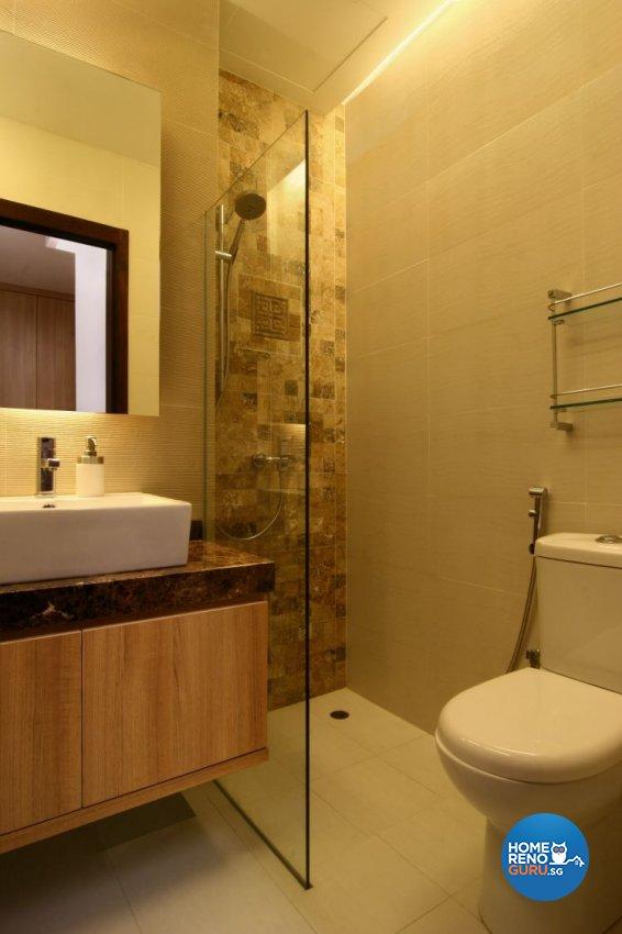 Resort, Tropical Design - Bathroom - Landed House - Design by LOME Interior