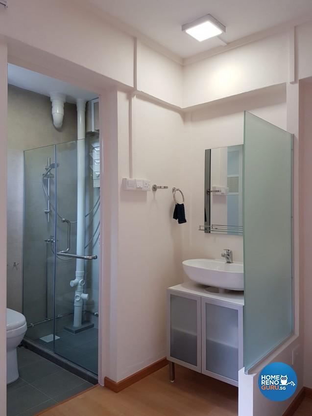Country Design - Bathroom - HDB 4 Room - Design by LOME Interior