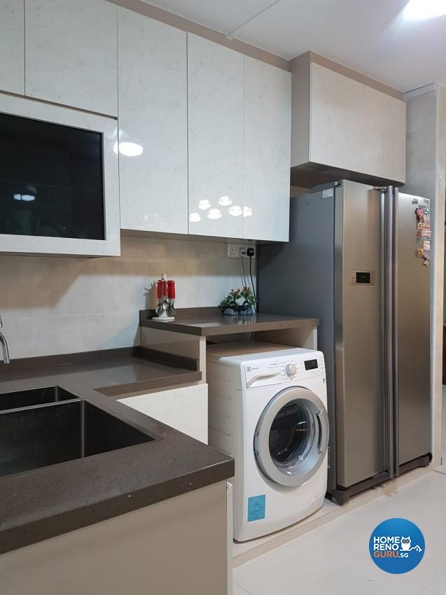 Contemporary Design - Kitchen - HDB 4 Room - Design by LOME Interior