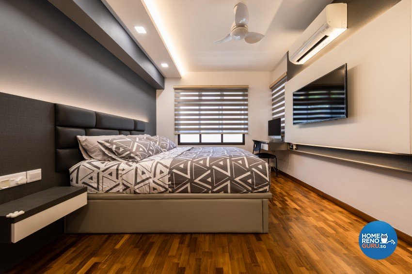 Contemporary, Modern Design - Bedroom - HDB 5 Room - Design by LOME Interior