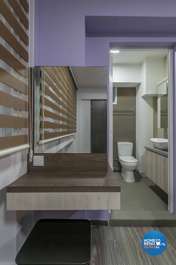 Contemporary, Modern Design - Bathroom - HDB 5 Room - Design by LOME Interior