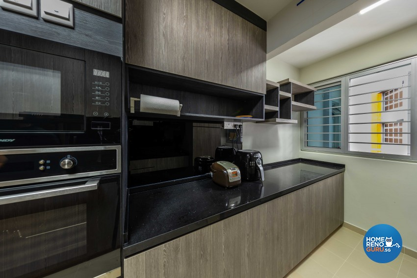 Contemporary, Modern Design - Kitchen - HDB 5 Room - Design by LOME Interior
